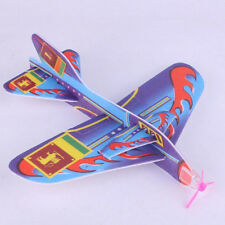 Stretch Flying Glider Planes Aeroplane Children Kids Toys Game Cheap Gift  DFCD)