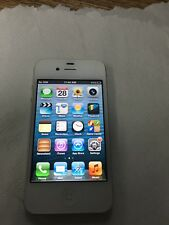Ios 6!..Apple iPhone 4s - 16GB - White (Unlocked) A1387 (GSM)