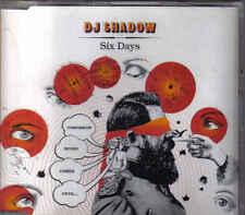 DJ Shadow- Six Days cd maxi single