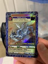 Digimon Digi-Battle Card Game Series 5 Azulongmon BO-236s Holo Moderately Played