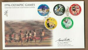 1996 New Zealand Atlanta Olympic Limited Edition Cover SG 2028/33