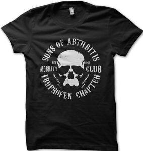 Arthritis Chapter Grandad Biker Motorcycle fathers day gift t-shirt OZ9122