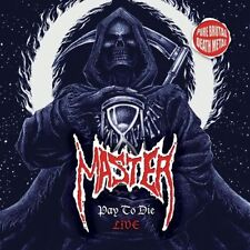 "Master ""Pay To Die – Live"" white vinyl EP [Pure Brutal Death Metal, Speckmann]"