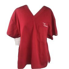 Dickies Cardinal Health Plus 2X Xx Medical Scrub Nurse Red Logo Spell Embroidery