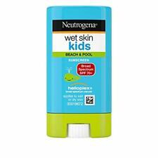Neutrogena Wet Skin Kids Sunscreen Stick Broad Spectrum Spf 70 Water Resistant