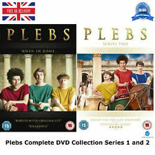 Plebs ITV2 Series 1-2 Complete Collection Plebs 1 and 2 NEW AND SEALED UK R2 DVD