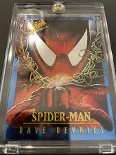 1995 Fleer Ultra Limited Edition SPIDER-MAN MASTERPIECES #4/9 Dave DeVries