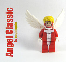 LEGO Custom - Angel Classic - Marvel Super heroes mini figure X-men archangel