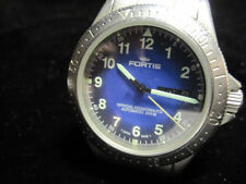 FORTIS Official Cosmonauts Day/Date 610.22.158 Blue Dial