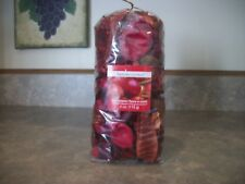 """APPLE CINNAMON SCENTED POTPOURRI IN A 4 OUNCE BAG LUMINSSENCE  """"FREE SHIPPING"""""""