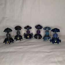 Skylanders Imaginators Creation Crystals X 6 Bundle Job Lot - Blue Purple Black