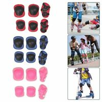 Kids and Teens Elbow Knee Wrist Protective Guard Safety Gear Pads Creative~