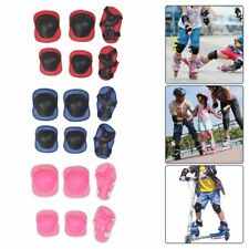 Kids and Teens Elbow Knee Wrist Protective Guard Safety Gear Pads Skate @ami