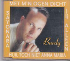 Burdy-Met Mn Ogen Dicht cd maxi single