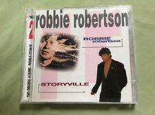 ROBBIE ROBERTSON : Self Title & Storyville DOUBLE CD OF 2 LPs. GEFFEN 1996