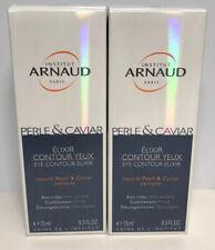 Institut Arnaud natural Pearl&Caviar, Eye Contour Elixir, 0.5 oz, Lot of 2. 2601