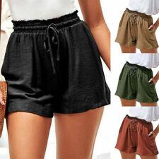 Elastische Taille Damen-Shorts & -Bermudas Hotpants