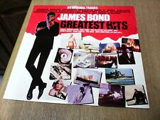 JAMES BOND GREATEST HITS LIBERTY EMTV 007 EMI COMPILATION 1982 SUPERB!