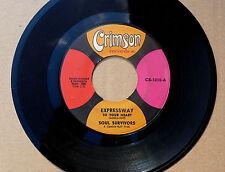 "7"" Soul Survivors - Expressway To Your Heart - US Crimson"