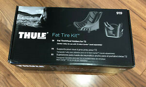 Thule 919 Fat Tire Kit, Fit Tire Wheel Holder for T2