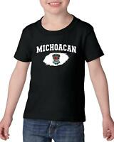 Mexico State of Michoacan  Heavy Cotton Toddler Kids T-Shirt Tee