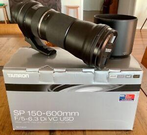 Tamron 150-600mm F/5-6.3 Di VC USD Lens for Canon