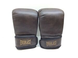 Everlast Heavy Bag Gloves Vintage Look Synthetic Leather L/XL