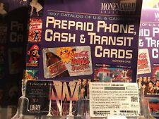 { NEW YORK } Liberty QUEST Telecard World Jacob Javitts 95 Expo Phonecard Sealed