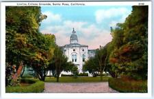 SANTA ROSA, California  CA    URSULINE COLLEGE GROUNDS  Sonoma County  Postcard