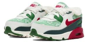 Nike Air Max 90 (TD) 'Christmas Sweater' Shoes DC1623-100