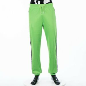 GIVENCHY 1130$ Jogger Pants In Green With Logo Side Band