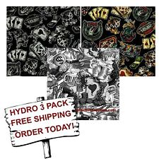 HYDROGRAPHIC FILM WATER TRANSFER PRINTING FILM HYDRO DIP VEGAS 3 PACK