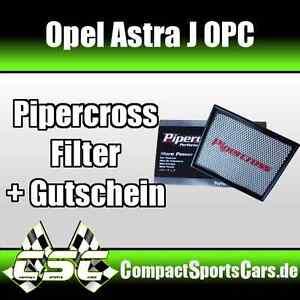Opel Astra J OPC 2.0 Turbo   280PS   Pipercross Sportluftfilter/Tauschfilter