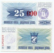BOSNIA /& HERZEGOVINA 20 Convertible Maraka 2012 P82a UNC Banknote