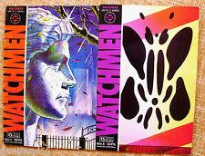 Lote de 2 Comics de WatchMen, 1987, números 2 y 6