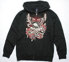 Alpinestars Eagle Rose Zip Fleece Hoody (XXL) Black 1041-53010