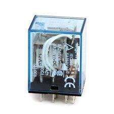 MY4J 12V DC 14 Pin Plug in Electromagnetic Relay Coil 5A 240V AC 28V DC