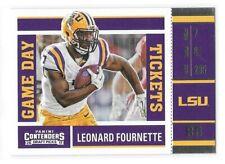 Leonard Fournette Rookie Card 2017 Contenders Game Day Jacksonville Jaguars RC