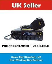 CRE8900 10M 11M MULTIMODE AM FM USB LSB CW MULTICOLOR DISPLAY + USB CABLE DIN PP