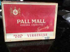 """Vintage 1924/1926 era  Pall Mall """"Specials"""" Metal Cigarette Case Made in Canada"""