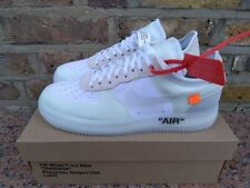 Nike Air Force 1 Low The 10 Virgil Abloh Off White dix Nikelab AF1
