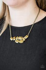 Paparazzi Urban Dynasty BRASS necklace set