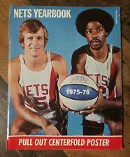 1975 76 NEW YORK NETS Yearbook JULIUS ERVING MELCHIONNI Paultz ABA CHAMPIONS