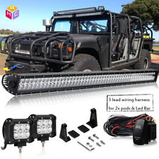 Led Light Bar Spot Flood For Hummer H3 1 lead remote control wiring switch Kit