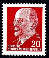 848 postfrisch DDR Briefmarke Stamp East Germany GDR Year Jahrgang 1961