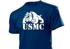 United States Marine Corps T-Shirt Bulldogge US Army 2-5XL Drill Instructor USMC