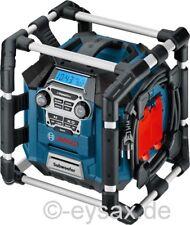 Bosch Professional GML 20, Akku-Radio, Baustellenradio,USB,SD,MP3,AUX-IN (c+g)