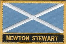 Newton Stewart Scotland Town & City Embroidered Sew on Patch Badge