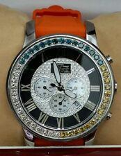 Freeze Diamond Watch With Removable 2.75 ctw diamonds  Bezel -Face  45mm.