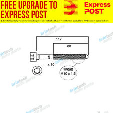 2010 For Volkswagen Eos 1F CCZB CCZB VCT Head Bolt Set